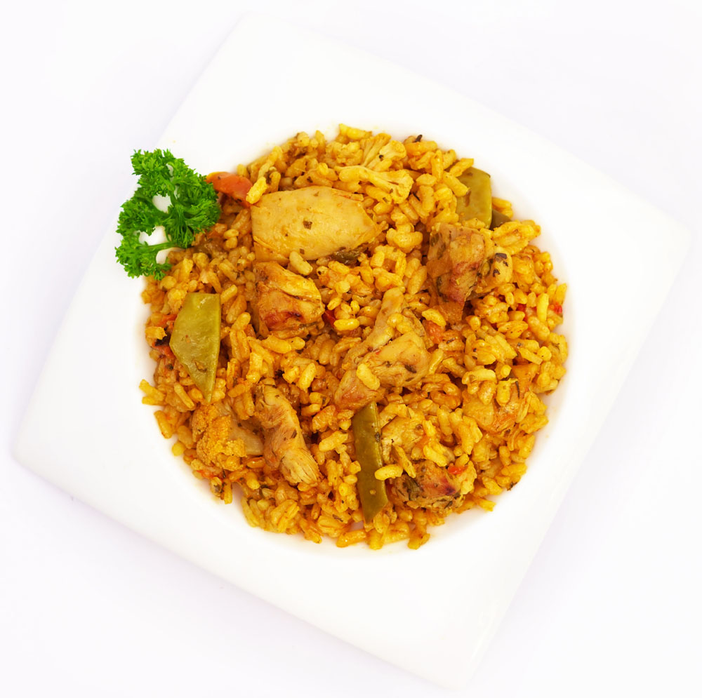 Arroz con pollo y verduras - Platos preparados BERA