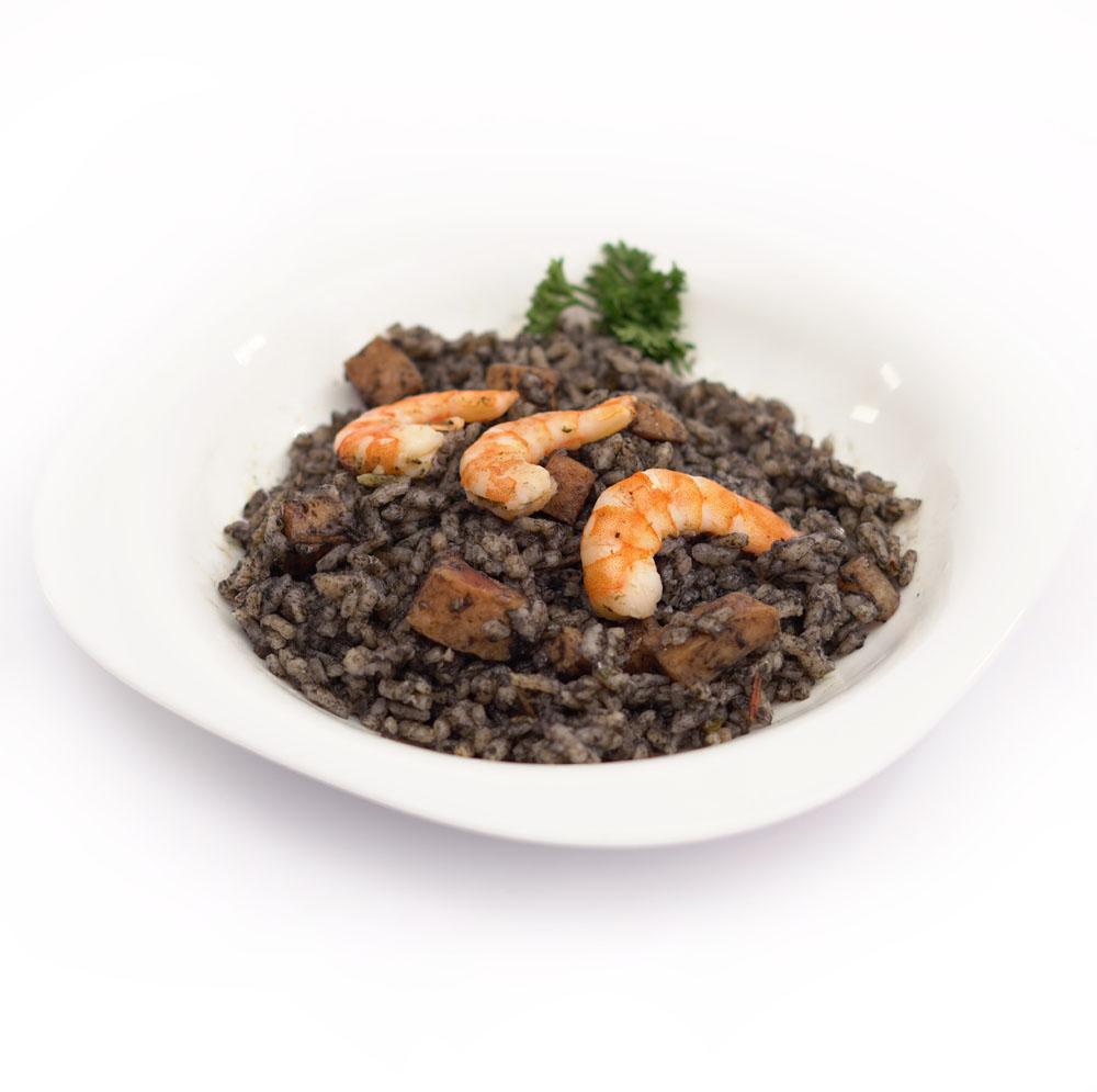Comprar comida a domicilio arroz negro con sepia y langostinos BERA