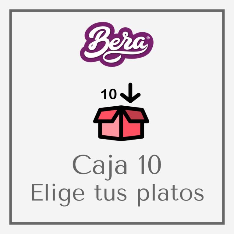 Caja de 10 platos preparados a domicilio BERA
