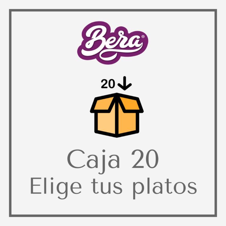 Caja de 20 platos preparados a domicilio BERA