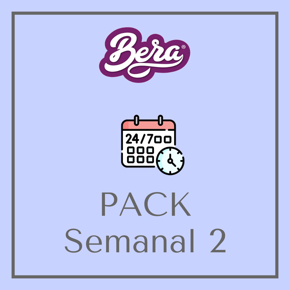 Pack Semanal 2 - Platos Preparados BERA